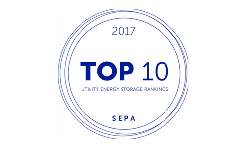 sepa top 10 utility energy storage