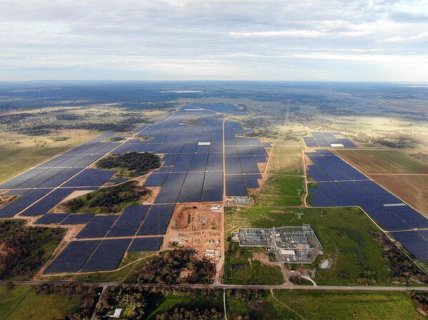 Darlington Point Solar Farm with optimized bidding by Fluence