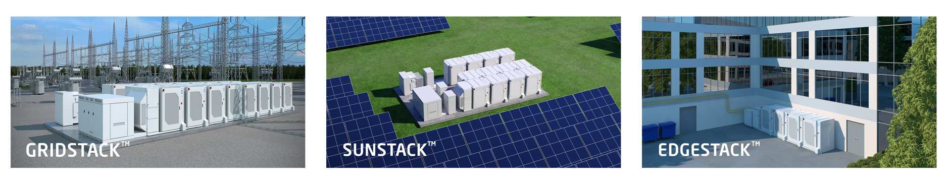 Fluence 3 purpose-built energy storage systems