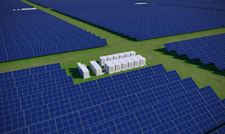 Fluence Sunstack Energy Storage System